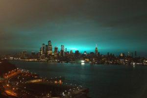 blue light over nyc was not aliens officials announce
