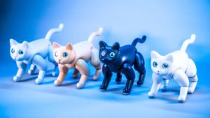 robotic cat becomes available on kickstarter