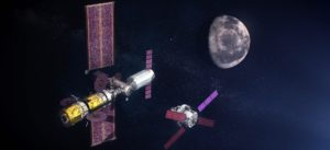 space x chosen to deliver cargo to planned lunar gateway space station