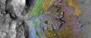 a look at upcoming mars rover landing site jezero crater