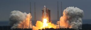 China successfully launches core section of its new space station