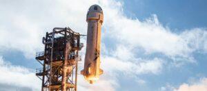 blue origins successfully launches new shepherd spacecraft test flight