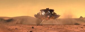 China becomes second country to successfully land rover on mars