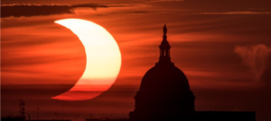 amazing images captured of ring of fire solar eclipse