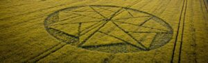 first UK crop circle of the year