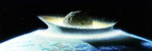 asteroid that killed dinosaurs caused mile high tsunami