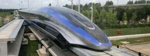 China develops fastest maglev train system